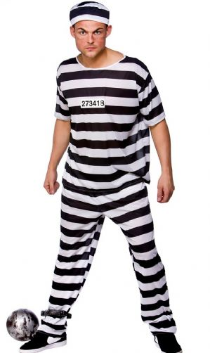 Prison Break Convict Costume